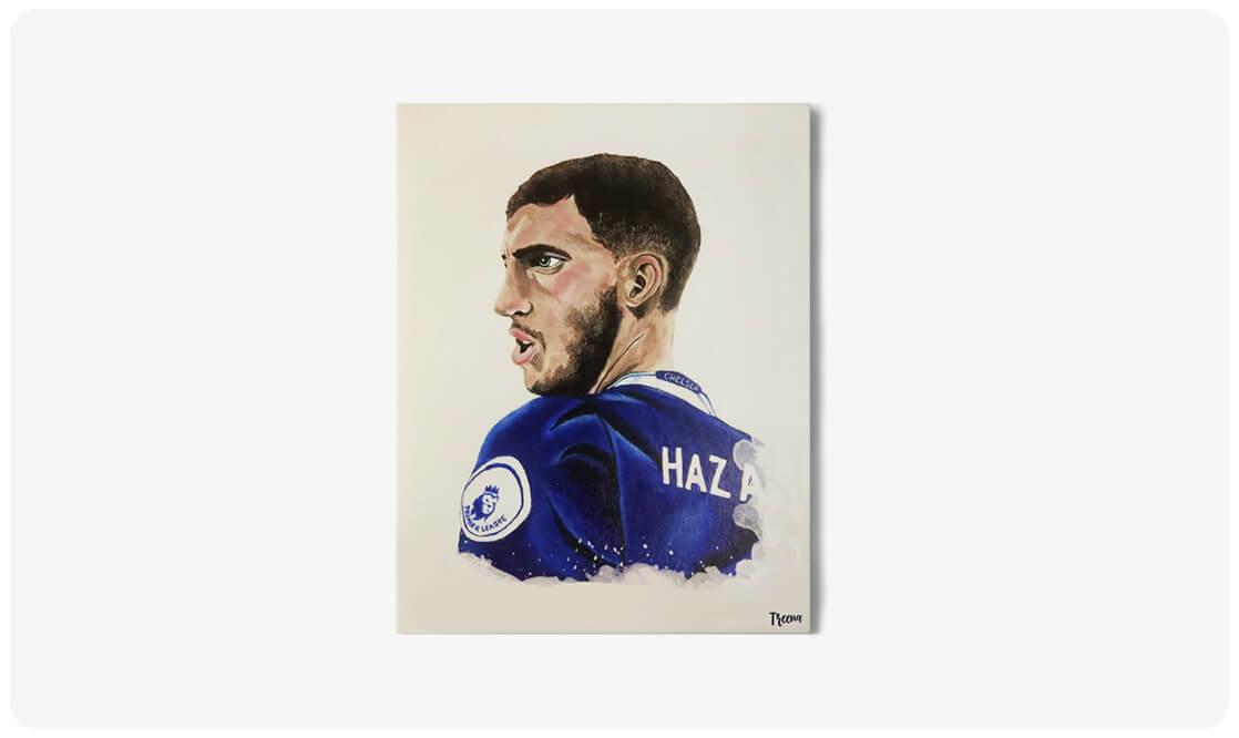 Eden Hazard akryl